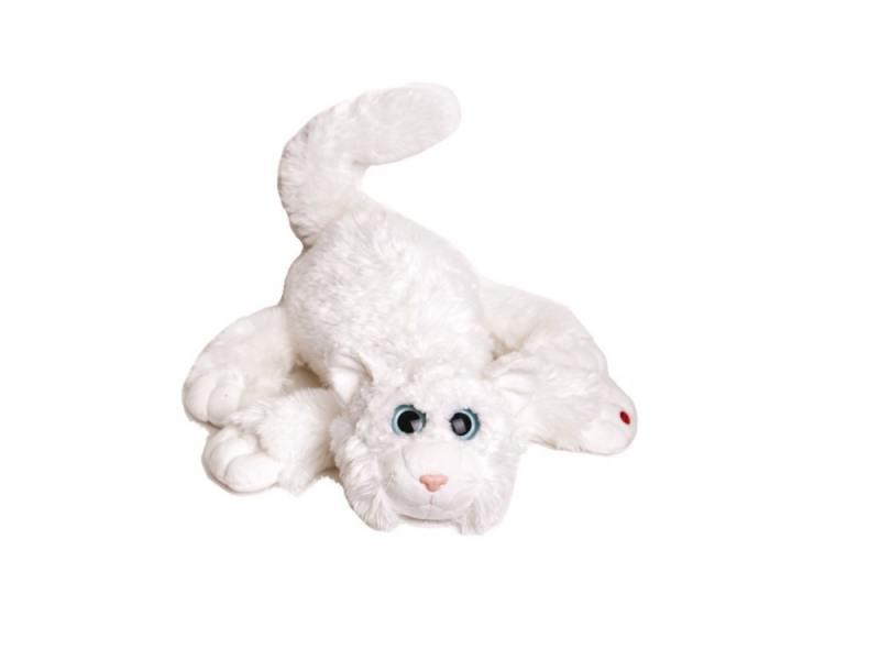 Мягкая игрушка кот Gulliver Шалунишка со звуком 45 см искусственный мех 18-3001-1