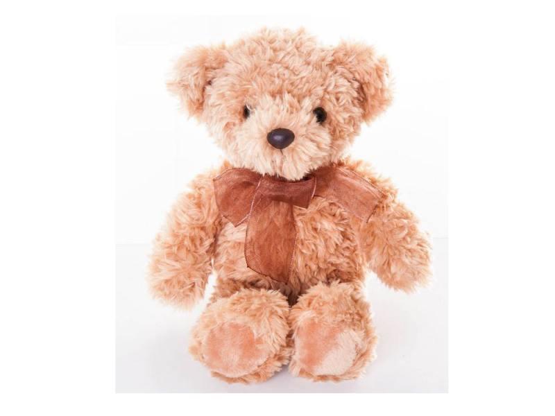 Aurora Игрушка мягкая Медведь светло-коричневый 20 см 91651 3+