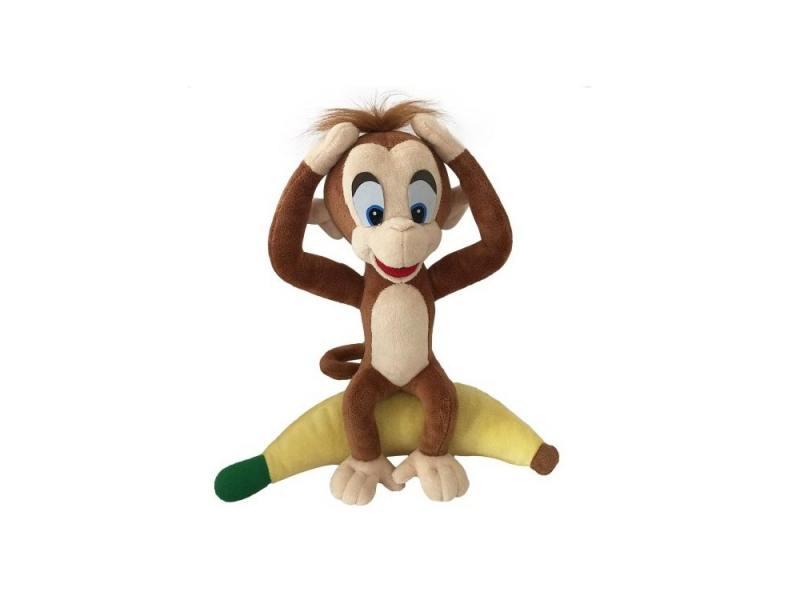 Мягкая игрушка обезьянка Fluffy Family Добытчик Арчи 30 см коричневый плюш fluffy animals