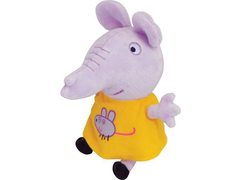 Мягкая игрушка слоненок Peppa Pig Эмили с мышкой 20 см сиреневый текстиль 29623 от OLDI