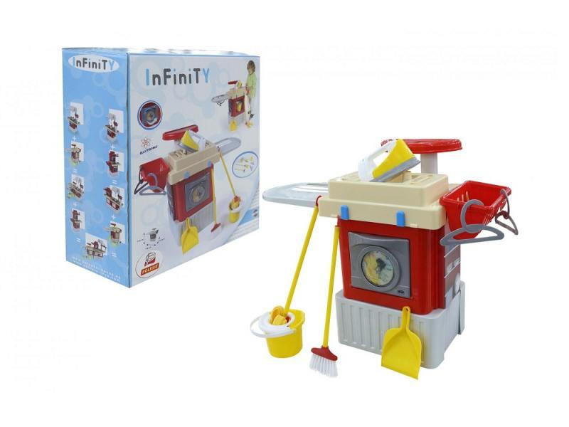 Игровой набор Полесье Infinity basic №3 со стиральной машиной 42293