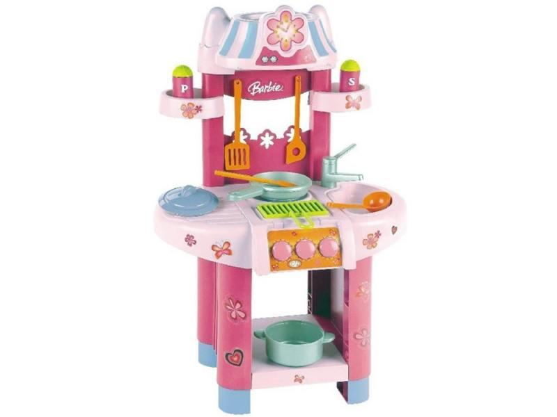 Klein Кухонный центр Barbie.(малый) klein игровой набор bosch кухонный центр стайл 18 предметов
