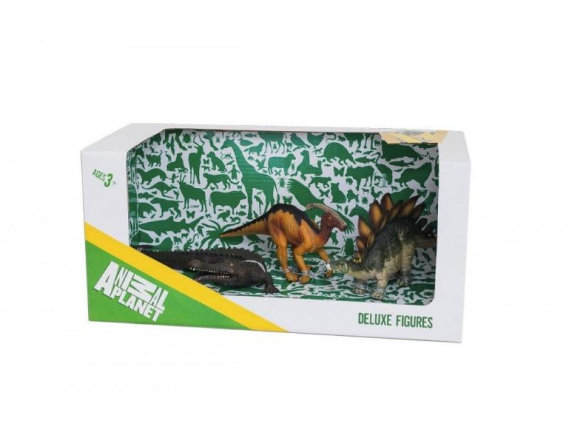 Набор фигурок Mojo Animal Planet Динозавры 3 387307 mojo booster