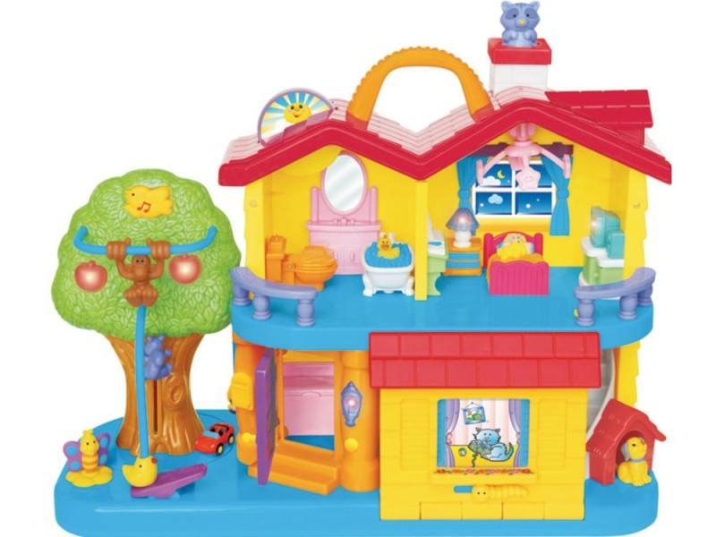 Kiddieland Развивающая игрушка «Занимательный дом» 032730