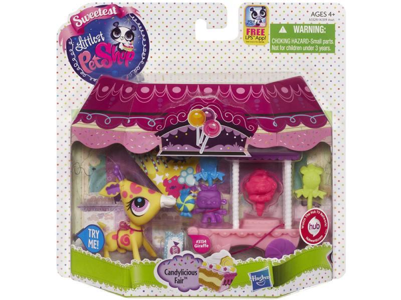 Игровой набор Hasbro Littlest Pet Shop Деликатесы А3329