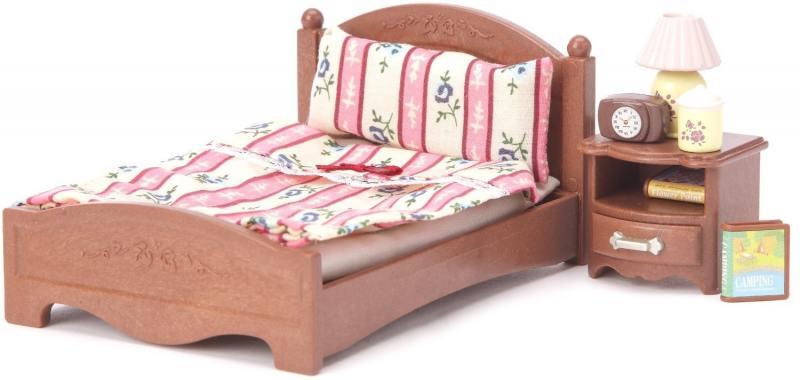 Набор Большая кровать и тумбочка 2934 Sylvanian Families