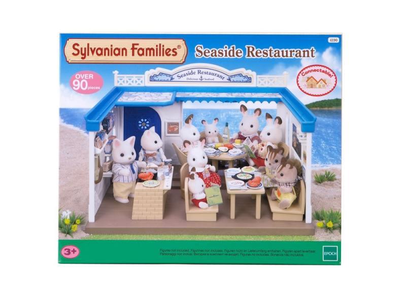 Игровой набор Sylvanian Families Морской ресторан 4190 sylvanian families набор кухонный гарнитур