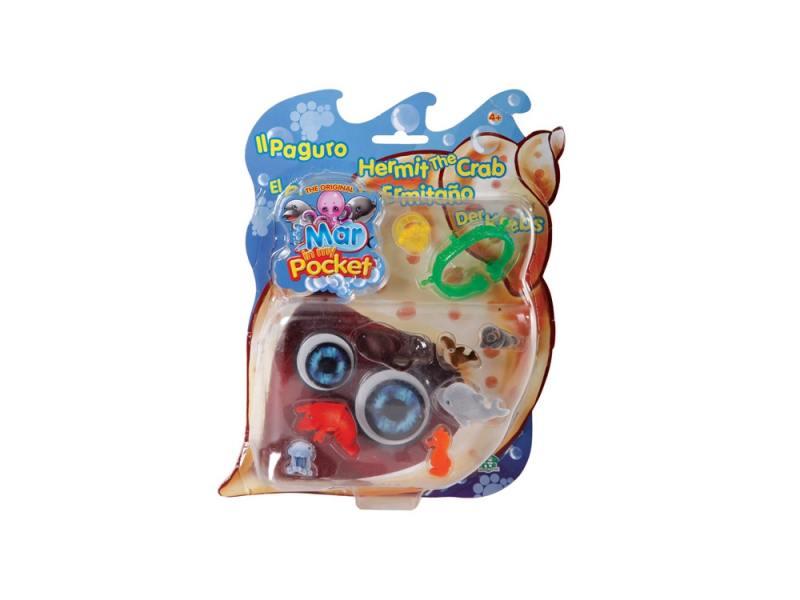 Купить Игровой набор Giochi Preziosi Рак-отшельник Пагуро 9 предметов GPH01283, Игрушки