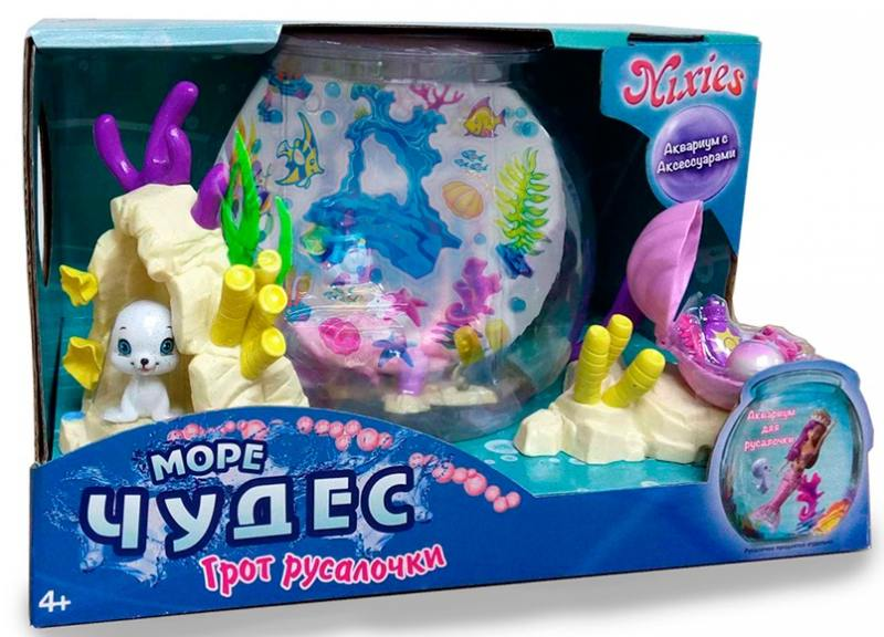 Набор Грот русалочки интерактивные игрушки море чудес грот танцующей русалочки