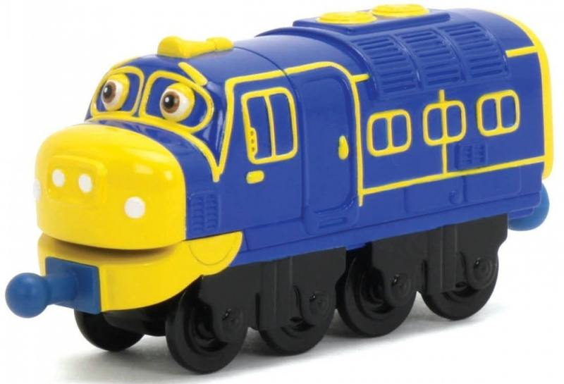 Паравозик Chuggington Die-Cast Локомотив Брюстер LC54003 chuggington chuggington die cast паровозик гаррисон