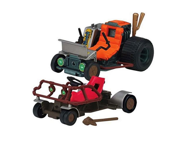 Игровой набор TMNT Патрульные Багги для Черепашек Ниндзя Микки и Раф 3 предмета 94034