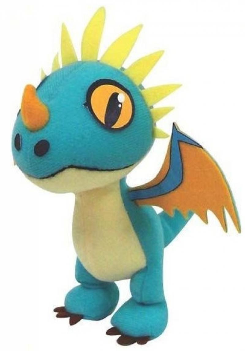 Мягкая игрушка Dragons Плюшевые драконы со звуком 66552 (в ассортименте) dragons фигурка toothless сидящий