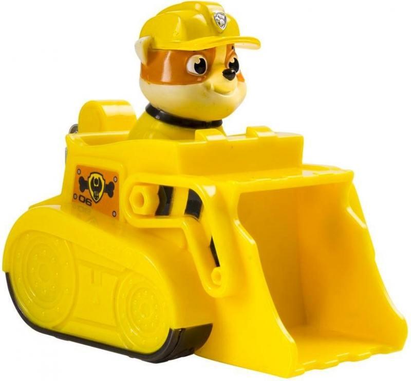 Игрушка Paw Patrol Маленькая машинка спасателя (машина на гусеницах) 20070714