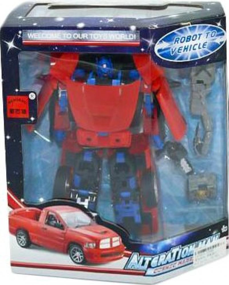 Купить Трансформер Shantou Gepai Робот-пикап 5508D, Игрушки