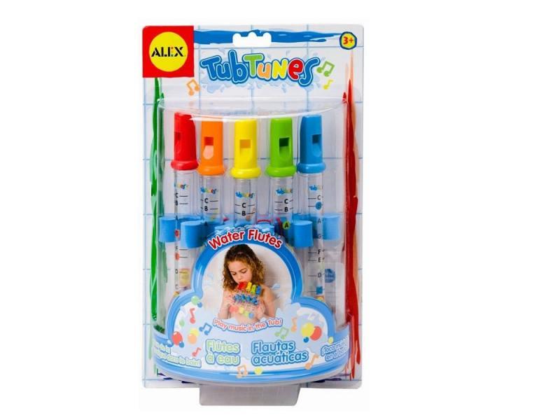 Интерактивная игрушка Alex для ванны Водяные флейты от 3 лет разноцветный 4005