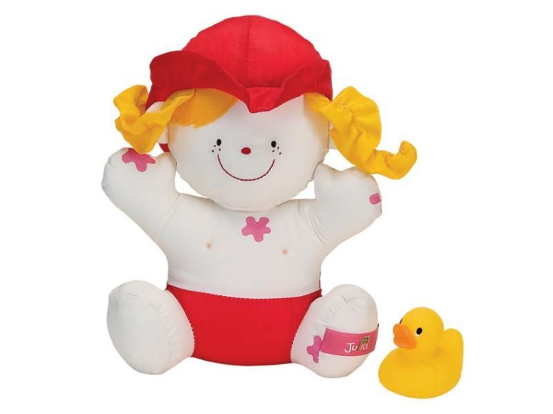 Интерактивная игрушка Ks Kids Девочка Julia для купания от 1 года белый КА10419