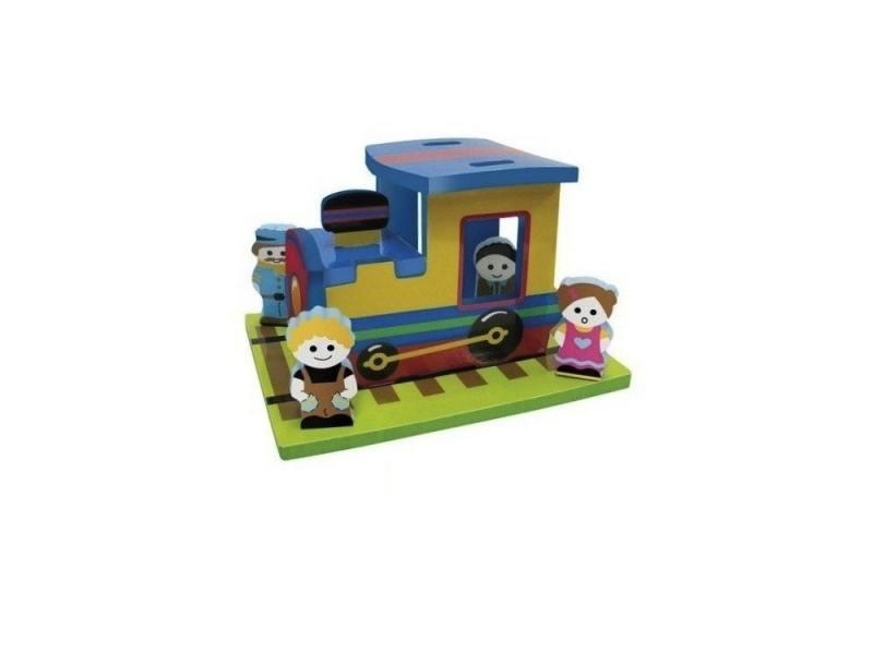 Интерактивная игрушка Edushape Поезд от 1 года разноцветный 542403