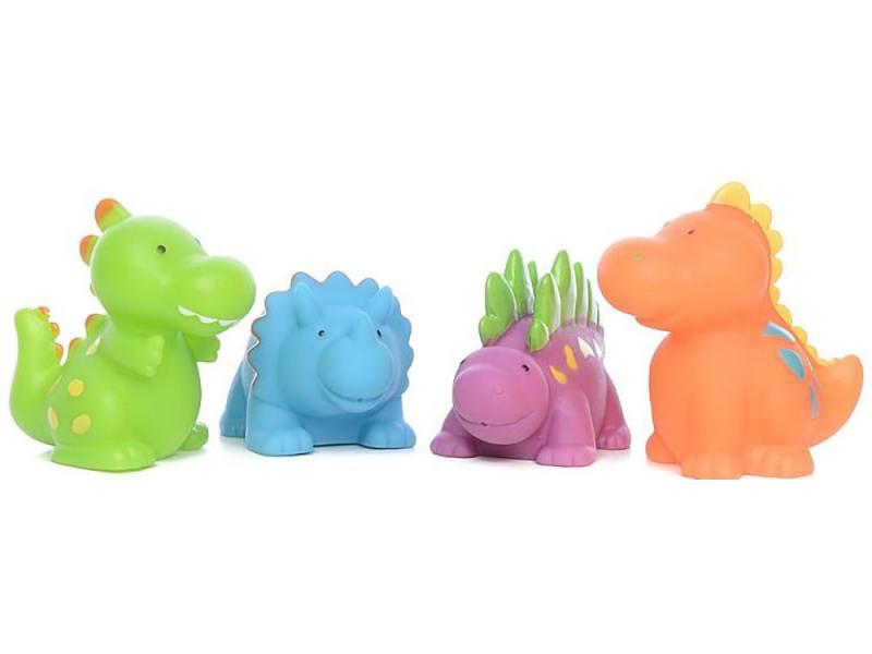 Интерактивная игрушка Alex Динозаврики до 1 года разноцветный интерактивная игрушка alex ферма 700fn