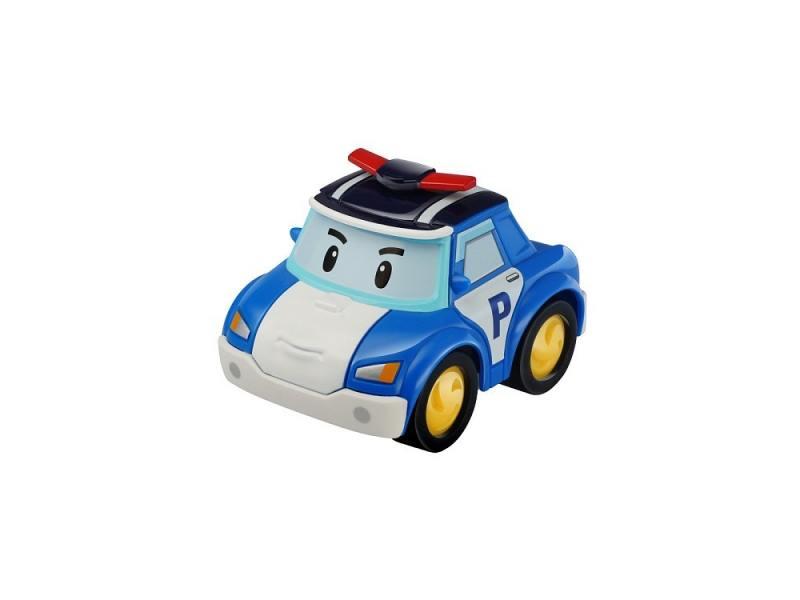 Полицейская машина Silverlit Poli инерционная 1 шт 10 см синий 83181 машины chicco полицейская машина