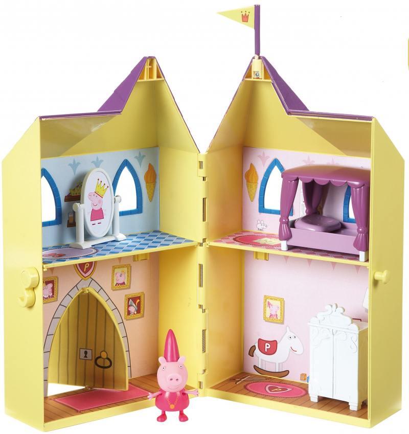 Игровой набор Peppa Pig Замок принцессы 15562 peppa pig игровой набор самолет peppa pig 30630
