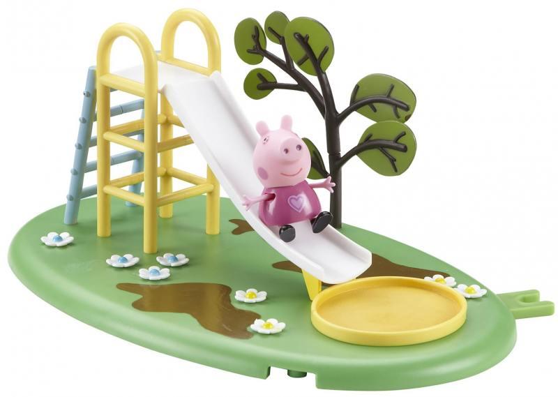 Игровой набор Peppa Pig Игровая площадка: горка Пеппы 28774 peppa pig игровой набор космический корабль пеппы