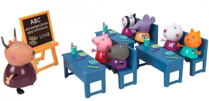 Игровой набор Peppa Pig Идем в школу 10 предметов 20827