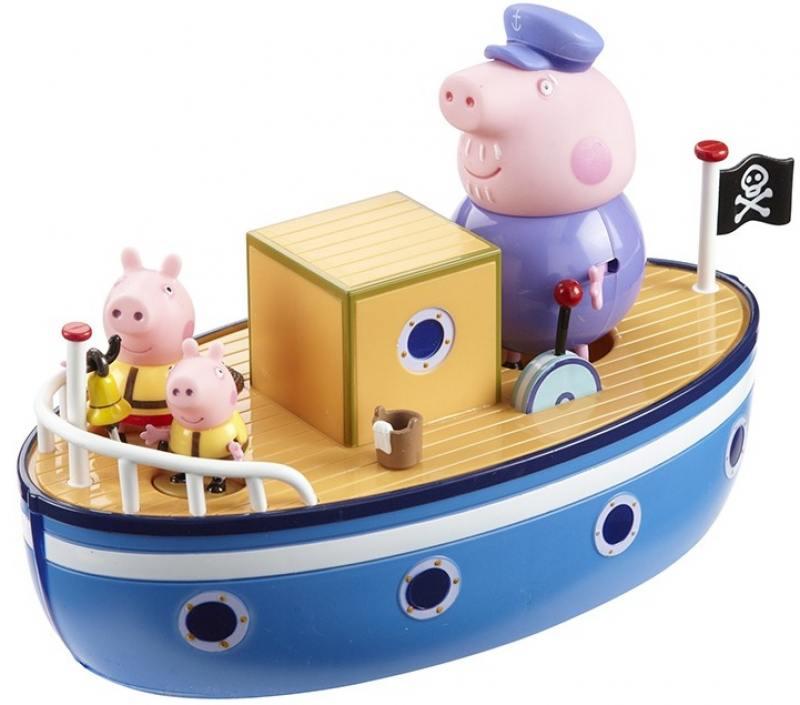 цена Игровой набор Peppa Pig Морское приключение, без мелков 4 предмета 15558 онлайн в 2017 году