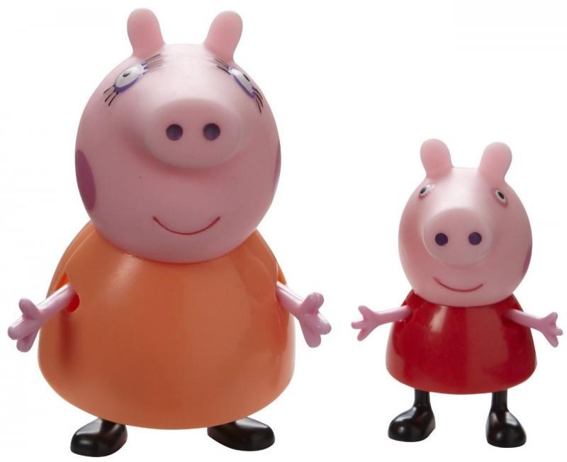 Игровой набор Peppa Pig Семья Пеппы Мама Свинка и Пеппа 2 предмета 20837