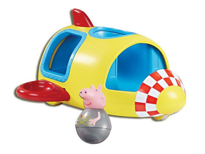 Игровой набор Peppa Pig Ракета Пеппы - неваляшки (с фигуркой Пеппы) 28796 new 2 0mp telescopes hd digital eyepiece camera st4 to usb adapter for guide star to equatorial wide angle lens