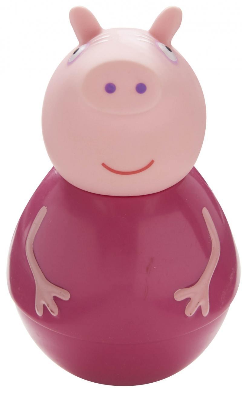Фигурка Peppa Pig неваляшка Бабушка Пеппы 28799 фигурка peppa pig неваляшка дедушка пеппы 28800