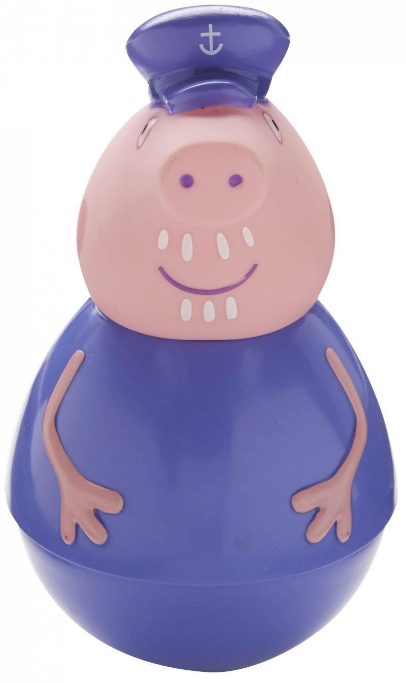 Фигурка Peppa Pig неваляшка Дедушка Пеппы 28800 фигурка peppa pig неваляшка дедушка пеппы 28800