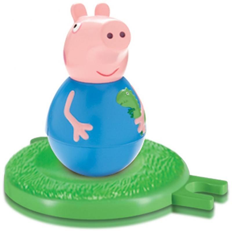 Фигурка Peppa Pig неваляшка Джордж 2 предмета 28802 свиньи page peppapig 30см плюшевые игрушки peppa pig джордж грязи