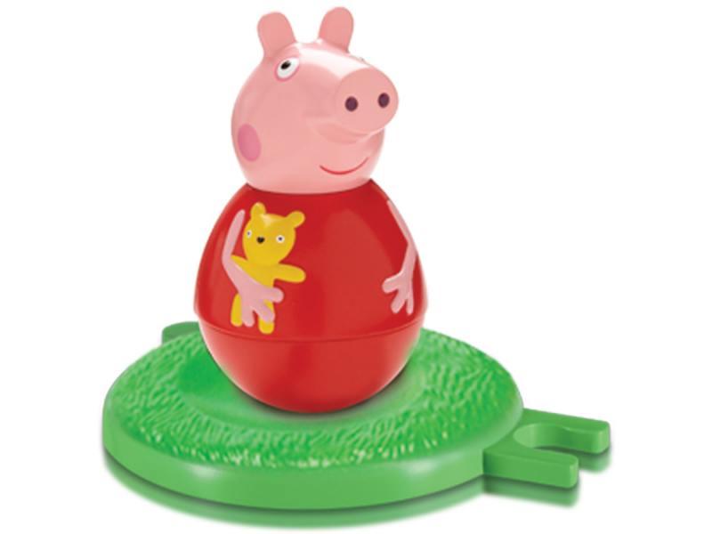 Фигурка Peppa Pig неваляшка Пеппа 2 предмета 28801 peppa pig 1000 first words sticker book