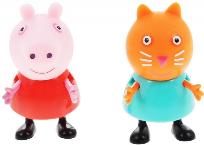 Игровой набор Peppa Pig Пеппа и Кенди 2 предмета 28818 росмэн игровой набор самолет peppa pig