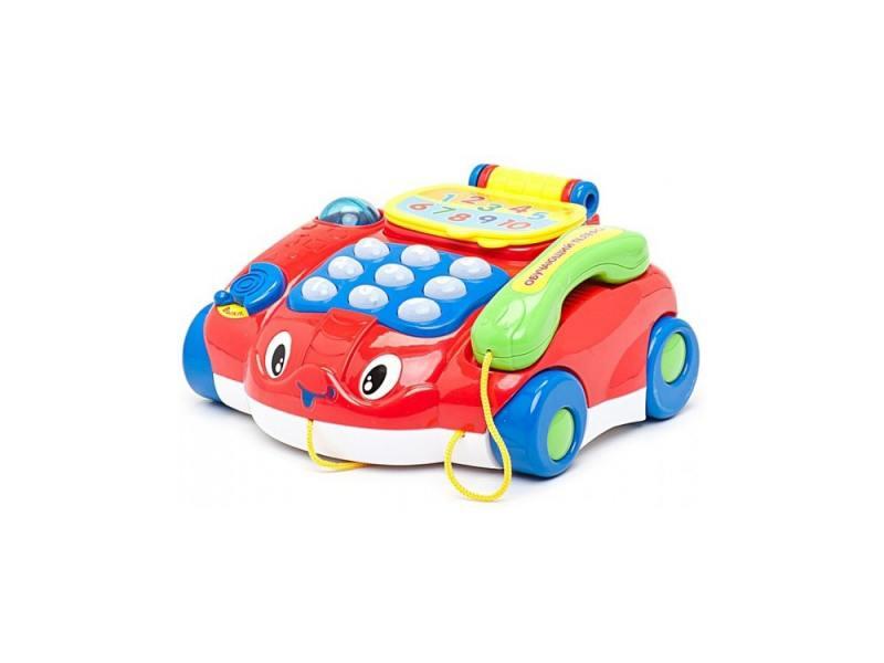 Интерактивная игрушка Умка Обучающий телефон от 3 лет разноцветный