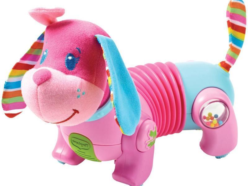Интерактивная игрушка Tiny Love Фиона Догони меня до 1 года розовый Т856