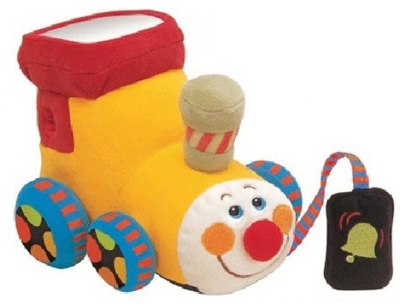 Развивающая игрушка K`s Kids Паровозик Чух-чух мягкая игрушка развивающая k s kids часы сова