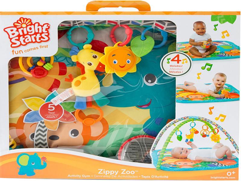 Купить Развивающий коврик Веселый жираф BRIGHT STARTS 52169, Игрушки