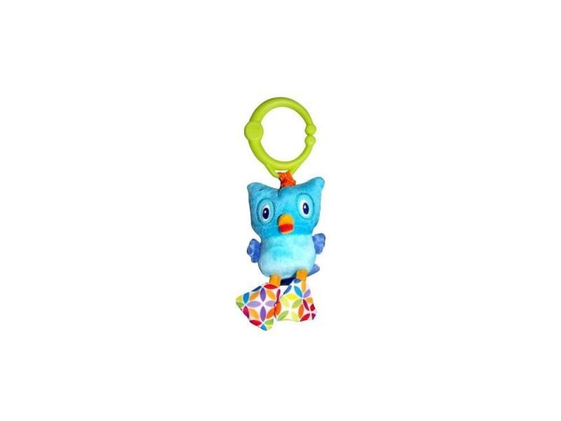 Интерактивная игрушка Bright Starts Дрожащий дружок - Сова от 3 месяцев голубой 8808-6