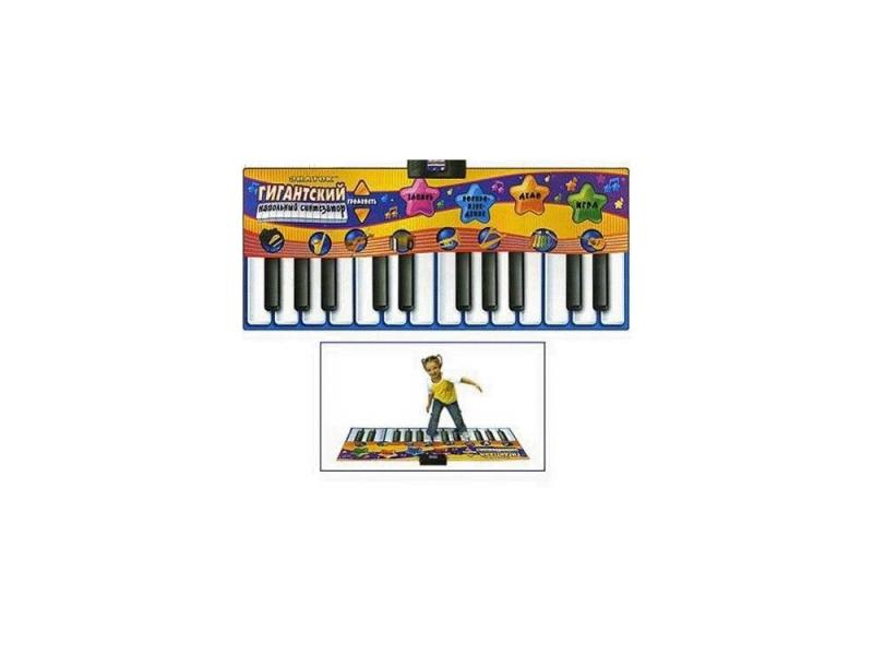 Купить Звуковой коврик Знаток Гигантский напольный синтезатор SLW928, Игрушки
