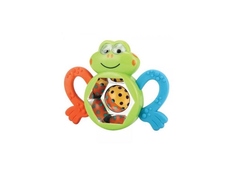 Погремушка-прорезыватель Happy Baby Веселый лягушонок Frogus 330303