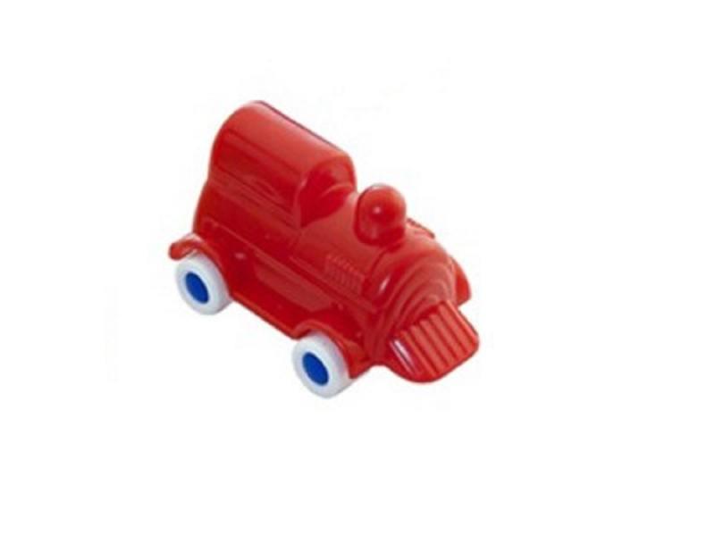 Мини-машина Miniland Локомотив, 9 см. красный 27501