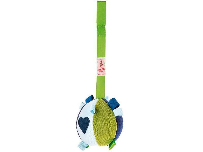 Развивающая игрушка SigiKid Мячик цвет сине-бело-зеленый,49253 игрушка для животных каскад мячик пробковый цвет зеленый 3 5 см