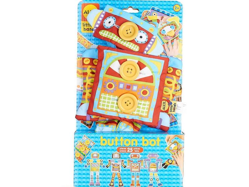 Развивающая игрушка Робот Пуговка, от 2 лет