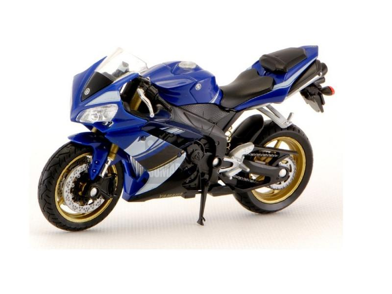 Мотоцикл Welly Yamaha YZF-R1 1:18 12806P мотоцикл yamaha rsz100cc