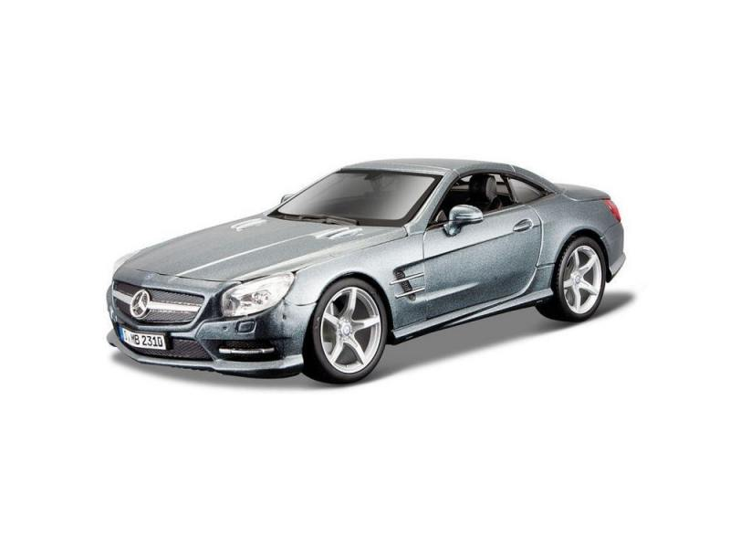 Автомобиль Bburago Mercedes-Benz SL 500 1:24 18-21067 maisto bburago 1 18 dodge viper gts coupe sports car diecast model car toy new in box free shipping 12041