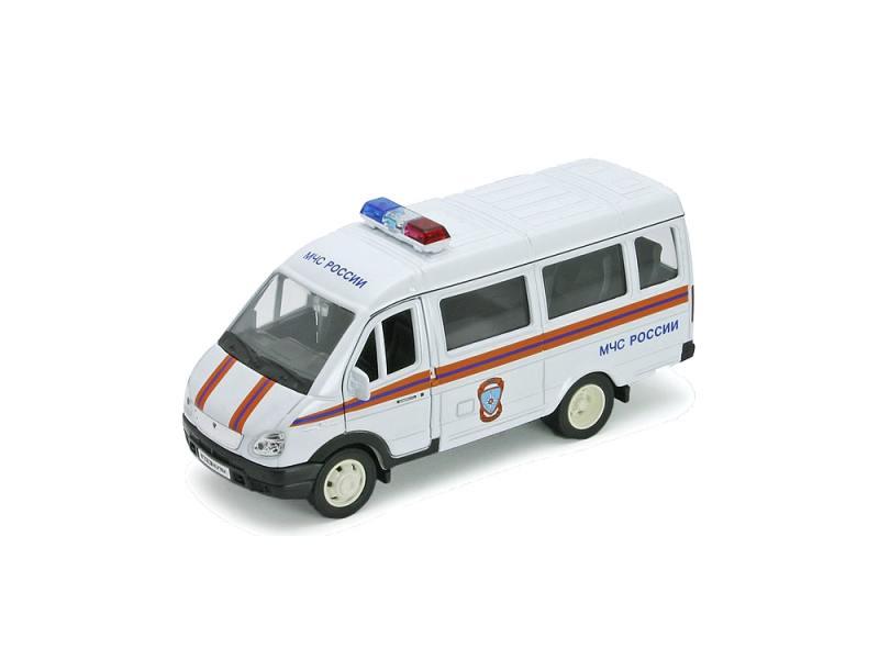 Welly Модель машины 1:34-39 ГАЗель МЧС 42387ARE welly welly набор служба спасения пожарная команда 4 штуки
