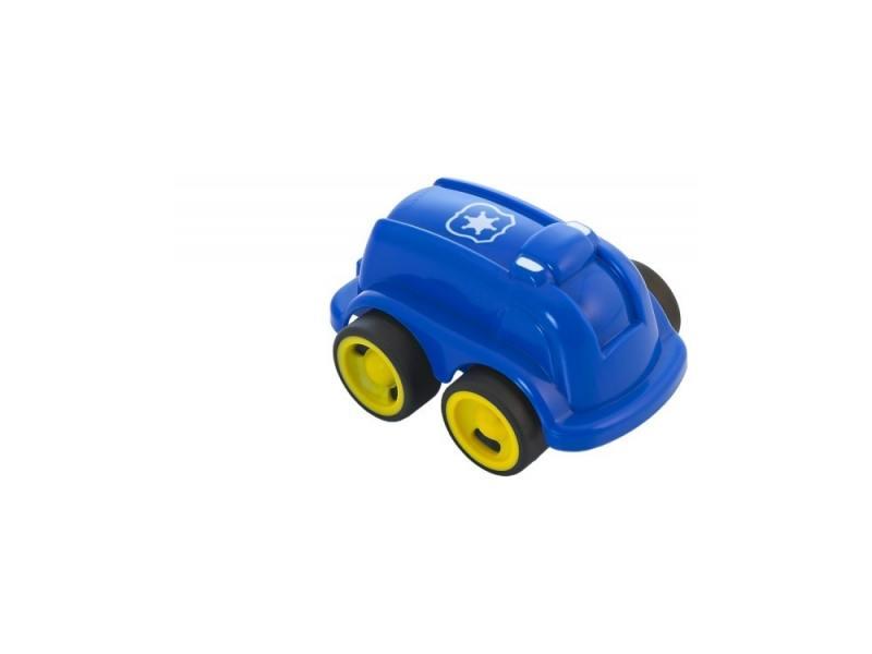 Полицейская машина Miniland Мини-машина 1 шт 12 см синий 27495 мини машинка miniland такси 9 см синий 27507