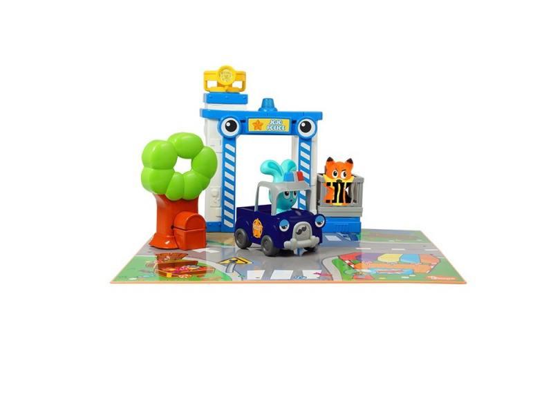Игровой набор Ouaps Полицейская станция Бани разноцветный 61148