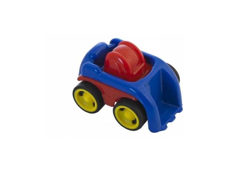 Будьдозер Miniland Мини-машина 1 шт 12 см синий 02162(74931) сортеры miniland шнуровка животные